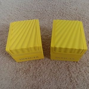 Invicta Watch Boxes, no tags or warranty papers